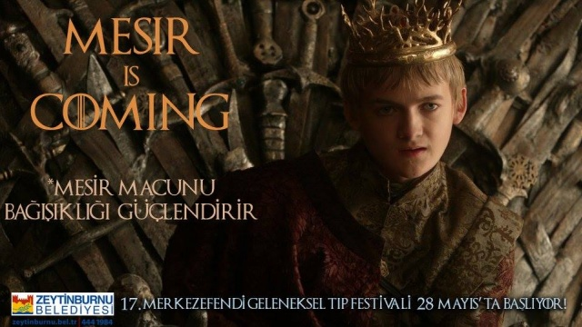 Mesir'i Game of Thrones İle Tanıttılar
