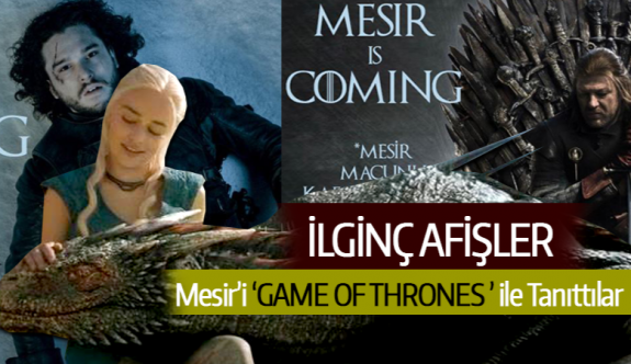 MESİR'İ GAME OF THRONES İLE TANITTILAR