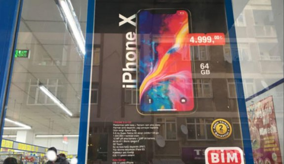 İPHONE X, MANİSA BİM'DE SATILIYOR MU?