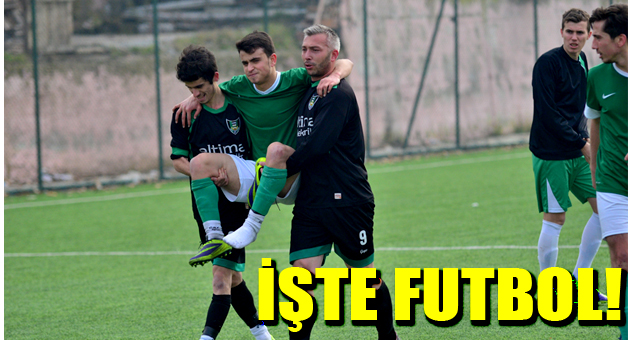 İŞTE FUTBOL İŞTE FAİR-PLAY!